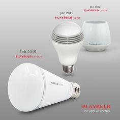 PLAYBULB rainbow - Stylish Smart Color LED Light Bulb by MIPOW USA — Kickstarter