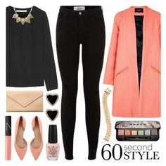 """60 Second Style: Last Minute Date"" by lgb321 ❤ liked on Polyvore featuring Carré Royal, Tory Burch, NARS Cosmetics, Cartier, OPI, Diane Von Furstenberg, Banana Republic, Buxom, Paper London and women's clothing"