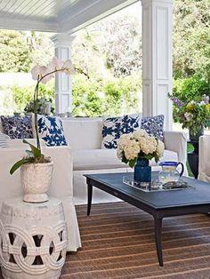 Elegant porch