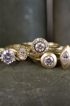 Shaesby engagement rings by Allison Smoler | Camille Styles
