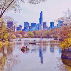 A lovely spring day at The Lake in Central Park New York City by Gigi Altarejos @gigi_nyc | newyork newyorkcity newyorkcityfeelings nyc brooklyn queens the bronx staten island manhattan @lingkingman @ellistuesday @BastienGchr @Parccy