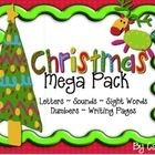 This Christmas Mega Pack is cute colorful and includes:26- Capital letter Cards26- Lowercase Letters Cards42- Phonemic Awareness Sound Cards 5...
