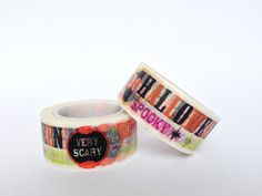 Washi Tape Halloween / Halloween Washi Tape by Partytude on Etsy