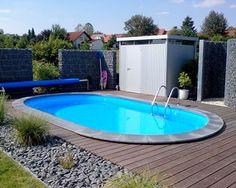 swimmingpool im garten: 6 budgetfreundliche ideen | tuin, tes and, Hause und garten