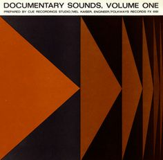 Documentary Sounds, Vol. 1 by Various Artists - This album is a collection of five categories of sounds made by humans, bells, cars and trucks, construction and aircraft. Each category offers specific examples of everyday sounds including a town crier's handbell, a Boeing 707's taxi to the runway, and street noises at Christmas.
