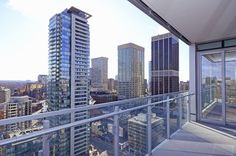 Four Seasons Condos 55 Scollard St Apartment 1902 Balcony Yorkville Toronto Victoria Boscariol Chestnut Park Real Estate