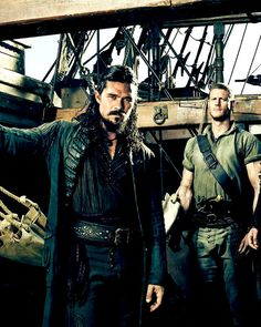 Black sails s3 Silver and Billy Bones