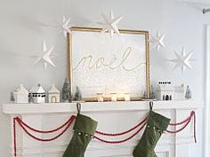 Last-Minute Christmas Decorating: Quick & Easy Printable Paper Stars