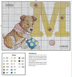 Flashup -- ALPHABET DOG -- M