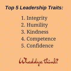 Whaddya Think? Internet Quotes, Leadership Traits, Humility, Embedded Image Permalink, Integrity, Confidence, Self, Inspirational Quotes, Twitter