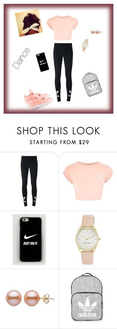 """""""#fashionKS💋"""" by keilastylist ❤ liked on Polyvore featuring adidas Originals, Topshop, NIKE and Nine West"""
