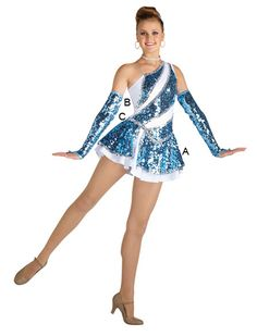 Majorette Costume (Needles Dress)