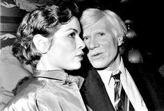 Bianca Jagger Andy Warhol