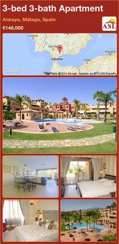 3-bed 3-bath Apartment in Atalaya, Málaga, Spain ►€148,000 #PropertyForSaleInSpain