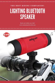 Bluetooth Speaker Outdoor Bicycle Portable Sub-woofer Bass | Free Worldwide Shipping