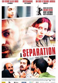 Separação, filme iraniano.