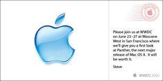 apple invitation Panther