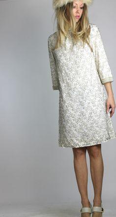 A Winter White Wedding Vintage 60s Mod Wedding by AutoluxeVintage, $228.00
