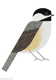 "Illustration for a feature on ""wild bird"" in Martha Stewart Living magazine, September 2013 issue. Ryo Takemasa"