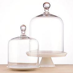 Glass Cloche from World Market $25