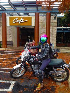 Cafe Racer - 2015 Yamaha SR 400.  Austin, Texas