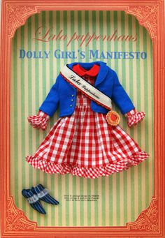 DOLLY GIRLS MANIFESTO by lala sieste, via Flickr