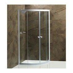 Cancel para baño.  Puertas de vidrio.