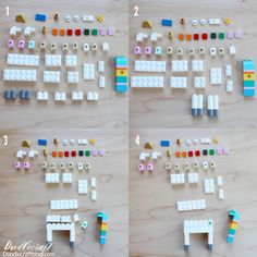 How to Build: Lego Unicorn ways! Lego Unicorns are the best! I found a severe lack of Unicorn Lego instructions and. Lego Activities, Craft Activities For Kids, Projects For Kids, Lego For Kids, Diy For Kids, Crafts For Kids, Legos, Lego Creations Instructions, Lego Poster