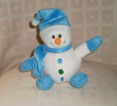 PMS Christmas Xmas Santa Claus Snowman Plush Beanie Soft Toy Collectable