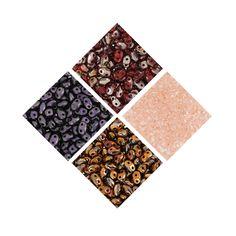 Venez découvrir les nouvelles couleurs de rocailles MiniDuo chez Perles & co ici >>> http://www.perlesandco.com/Matubo_MiniDuo-c-55_2819_3135.html