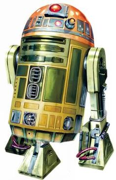 was an astromech droid used by Jedi Master Kit Fisto in his Jedi starfighter. served as Kit Fisto's Astromech droid during the First Battle of Geonosis.