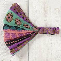 Natural Life Vagabond Gypsy Headband, Mint/Pink/Starburst... https://www.amazon.com/dp/B011CK3N0U/ref=cm_sw_r_pi_dp_x_IxPyzb0CJA65P
