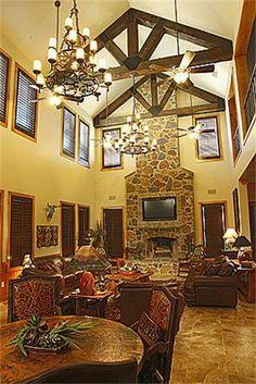 Terry Bradshaw's Oklahoma home.