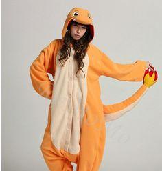 10c7f4edc8 Custom Personalized KIGURUMI Cosplay Romper animal Hooded halloween Costume  halloween. Charmander OnesiePokemon CharmanderCute OnesiesPyjamasAnimal ...