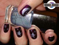 Searchin 4 Sunshine: [Nails] Lacke in Farbe ... und bunt! AUBERGINE mit KIKO 245 Pearly Dark Ruby