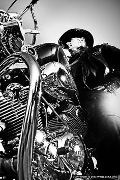 Motorcycle Lifestyles  Black  White Biker Man Portrait by Dimitar Hristov (54ka)