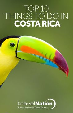 There's never been a better time to visit Costa Rica - Central America's eco-adventure capital. Zip-line through the cloud forest, spot colourful wildlife or just relax. You won't be disappointed. Here's our Top 10 things to do in Costa Rica!