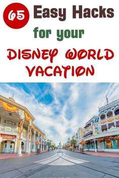 Walt Disney World vacation planning tips -- 63 hacks for your Disney trip that will help you save money, avoid lines, master the Disney Dining Plan, avoid crowds in the park, and more! Photo is of Main Street in the Magic Kingdom. Disney World Outfits, Disney World Resorts, Disney World Tipps, Disney World Secrets, Disney World Characters, Disney World Vacation Planning, Disney Planning, Disney World Tips And Tricks, Disney Vacations
