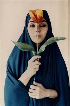 Shirin Neshat, 'Untitled,' 1995. Gelatin silver print. Repetto Gallery, London https://www.artsy.net/artwork/shirin-neshat-untitled
