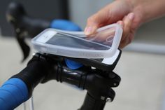 Quad Lock ‐ iPhone Bike Mount, iPhone 5 bike Mounthttp://www.quadlockcase.com/products/bike-mount-kit-iphone-5c