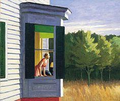 Edward Hopper, Cape Cod Morning. What an artist - so real.