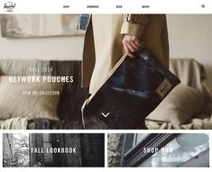 Beautiful and Creative Ecommerce Website Designs Great Website Design, Website Designs, Ecommerce Packaging, Branding, Ecommerce Website Design, Ecommerce Websites, Newsletter Design, Herschel Supply, Web Design Inspiration