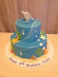 Dolphin cake | Sandra (socake) | Flickr