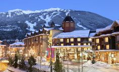 Whistler Village, British Columbia