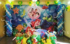 Mermaid theme decoration in bangalore.
