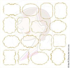 Gold Glitter Frame Png Clipart - Free Commercial Use Graphics featuring 16 Gold Sparkle Borders LARGE Clipart with white in the middle 10368 Frame Clipart, Gold Wedding Invitations, Diy Invitations, Gold Sparkle, Gold Glitter, Sparkle Wedding, Glitter Frame, Gold Calligraphy