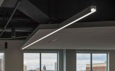 CLIENT: Takeda Pharmaceuticals LOCATION: Cambridge, MA INTERIOR DESIGNER: Fusion Design Consultants  #interiordesign #design #lighting #light #lightingdesign #architecture #architect #interiordesigner #designed #madeintheusa Linear Lighting, Lighting Design, Linear System, Fusion Design, Donut Shape, Open Office, Extruded Aluminum, Simple Shapes, Design Consultant
