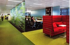 Work and collaboration space