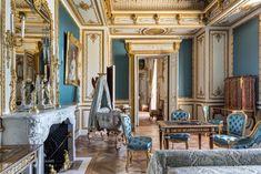 Salons Violet, Restaurant, Royal Palace, Oversized Mirror, Interior, Furniture, Elegant, Bedroom, Antiques