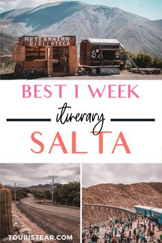 One-week itinerary in Salta, Argentina Best things to do in Salta, NW Argentina. Salta 1-week road trip.  #visitSalta #TraveltoArgentina